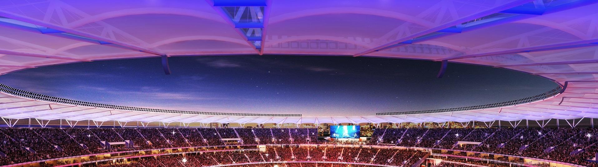 impresssive stadium